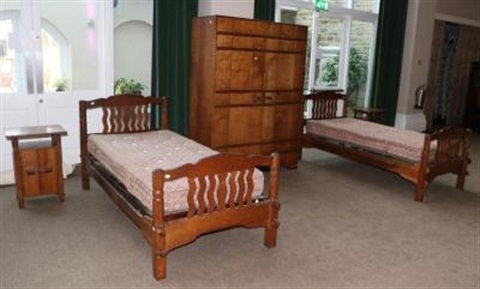 Arthur Romney Green 1872 1945 An Arts And Crafts Oak Bedroom