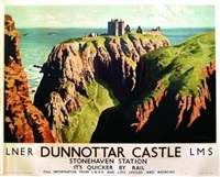 dunnottar castle 1938 by patrick macintosh