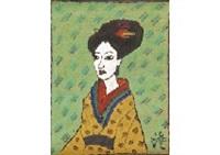 japanese woman by sumio kawakami