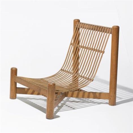 Peachy Lounge Chair By Charlotte Perriand On Artnet Inzonedesignstudio Interior Chair Design Inzonedesignstudiocom