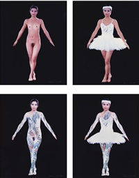ballet landscape (in 4 parts) by huang yan