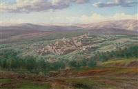 bethany, near jerusalem by karoly miksa reissmann