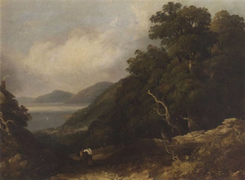 on the welsh coast bangor by joseph william allen