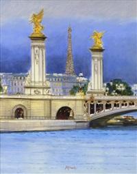 paris - le pont alexandre iii by h. rolf rafflewski