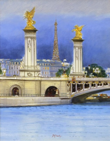 paris le pont alexandre iii by h rolf rafflewski