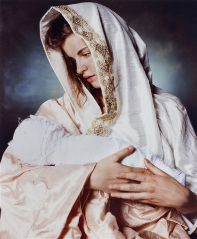 mother and child by andres serrano