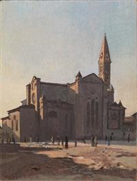 l'abside di santa maria novella (mattino) by llewelyn lloyd