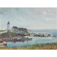 neil's harbour, cape breton, n.s. by bruce le dain