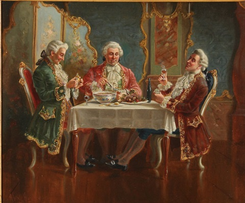 the dinner party by alexander austen