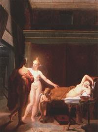 aphrodite zeight paris am hofe des menelaus die helena by austrian school-vienna (19)