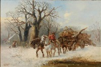 winter logging by harden sidney melville