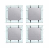 quattro specchi da parete by roberto giulio rida