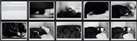 the sleepers (bob garison, third sleeper) (10 works) by sophie calle
