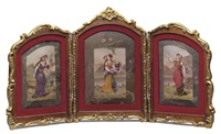 untitled (triptych) by dorval