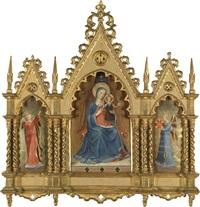 die madonna der leinweber by fra angelico