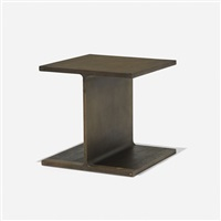 i-beam occasional table by ward bennett