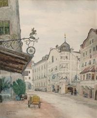motiv aus rattenberg am inn by rudolf konopa
