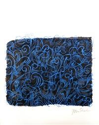the sea itself (from the rilke portfolio) by ben shahn