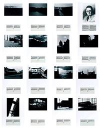 john vanderpant: 15 vues de glooscap présentées et commentées par les archives municipales (set of 16 works) by alain bublex