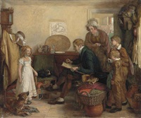 the child sitter by william mulready