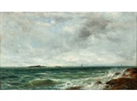 seashore by berndt adolf lindholm