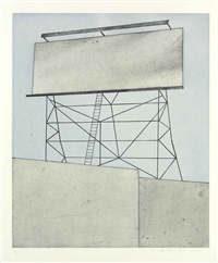 your space on building by ed ruscha