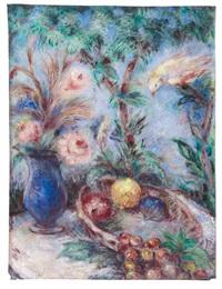 blumen, früchte, vogel by otto gleichmann
