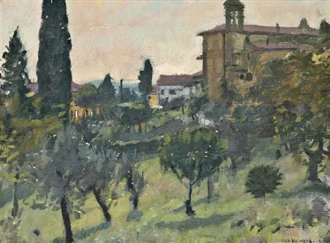 the garden montefiore tuscany by ken howard