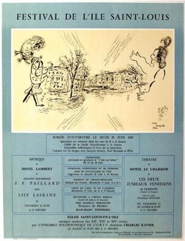 festival de lile saint louis by marc chagall