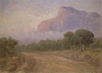morning mists by edward clark churchill mace
