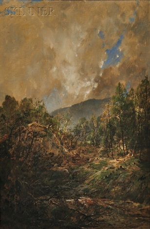 a glimpse of blue by william louis sonntag