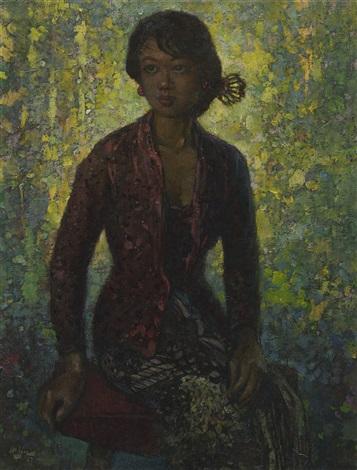 portrait of a lady by lee man fong on artnet