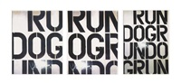 run dog run by christopher wool