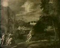 allegorie der kirche als lebensspendender und        unerschutterlicher fels christi by bartholomäus altomonte