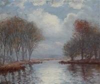 river landscape by hal robinson