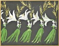 the lilies: a theatre design by marcel vertès