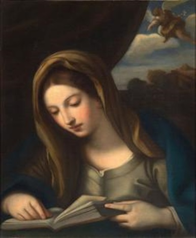 madonna dello studio by guido reni