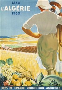 l'algérie, pays de grande production agricole by dormoy
