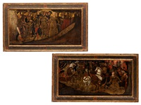 zwei schauseiten einer cassone mit szenen des odysseus (2 works) by anonymous (15)