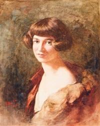 portrait of a girl by willem matthijs maris