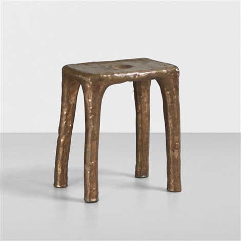 copper stool by max lamb
