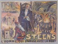 steens - l'homme qui s'amuse avec la mort by posters: circus