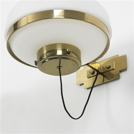 sconces model 240 pair by gino sarfatti