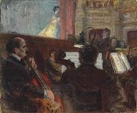 l'orchestre du havre by raoul dufy