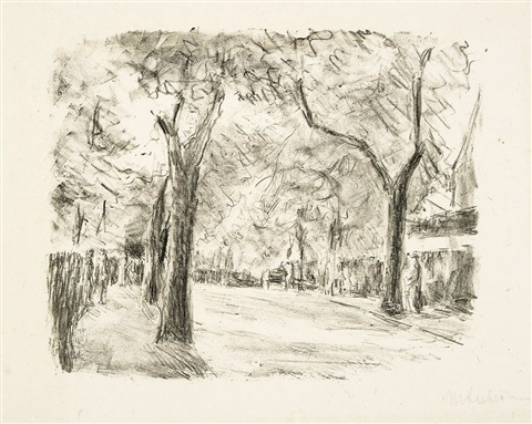 allee by max liebermann