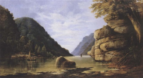 on the nepean river new south wales by william andrews