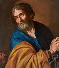 der apostel petrus by joachim von sandrart the elder