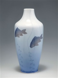 vase mit fischen by stephan peter jakob hjort ussing