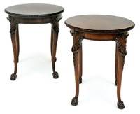 side tables (pair) by waring & gillow