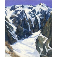 hill landscape by genichiro adachi